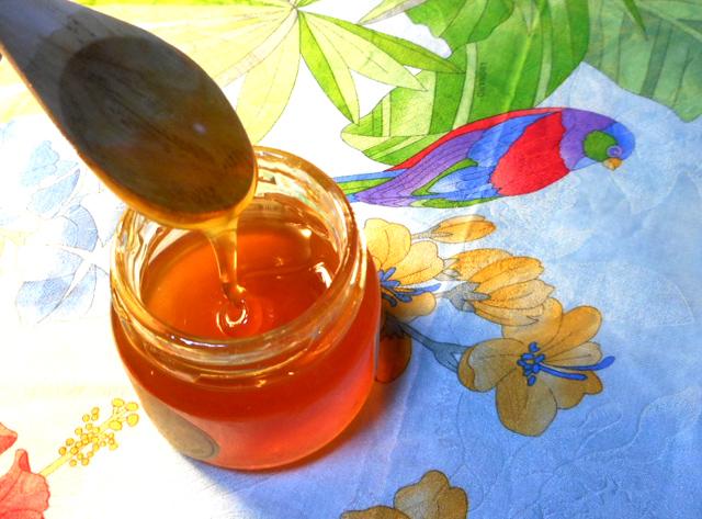 蜂蜜には整腸作用がある。