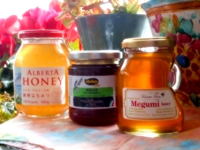 天然のハチミツにはビタミンがバランスよく含まれている