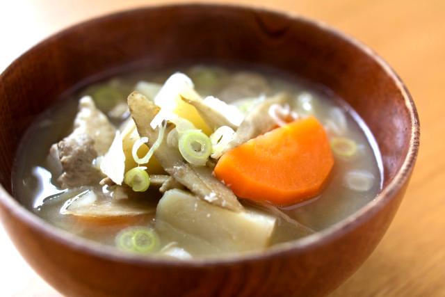 ビタミンB1が含まれた食材は、みそ汁やスープにすると、効果的に摂ることが出来ます。
