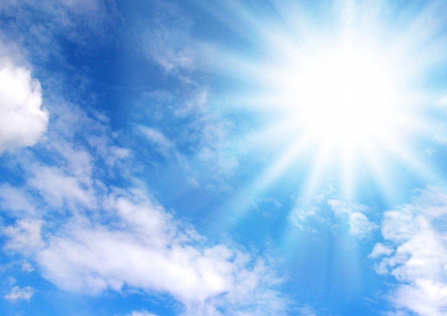 太陽光を気持ちよく浴びることはアトピー改善のための生活習慣としてオススメ