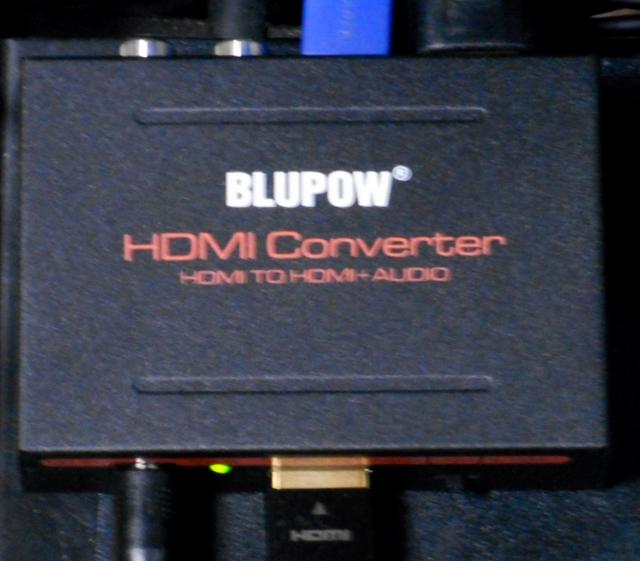 BLUPOW HDMI 分離 音声 hdmiデジタルオーディオ分離器