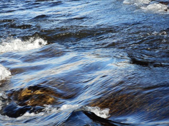 宮城県仙台市を流れる広瀬川の、<無常の瞬間>を捉えた写真