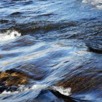 マインドフルネスの瞬間(とき)、広瀬川。