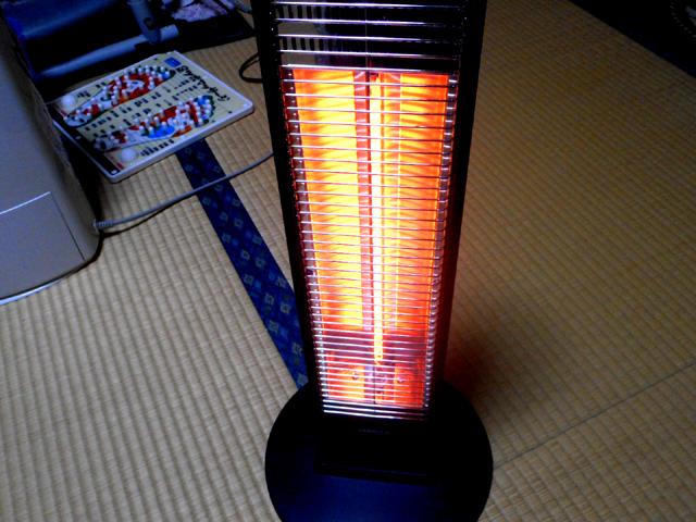 山善の遠赤外線カーボンヒーター(DCT-J063)