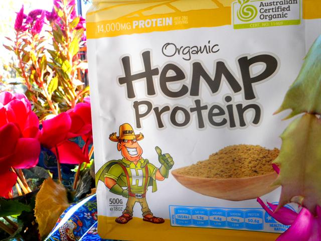 ヘンプシードの植物性タンパク質