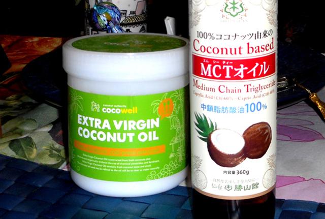 MCTオイルとココナッツオイルとの違いとは?