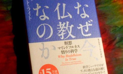 【悟り】は本当に必要なのか?ー『なぜ今、仏教なのか』3