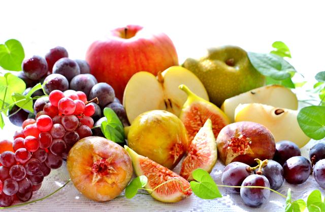 果物・フルーツ類は代謝のための栄養素が豊富。