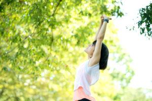 運動不足も免疫力低下を下げる原因