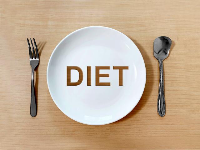 食べ物をつい口にする前にゆっくりとした呼吸