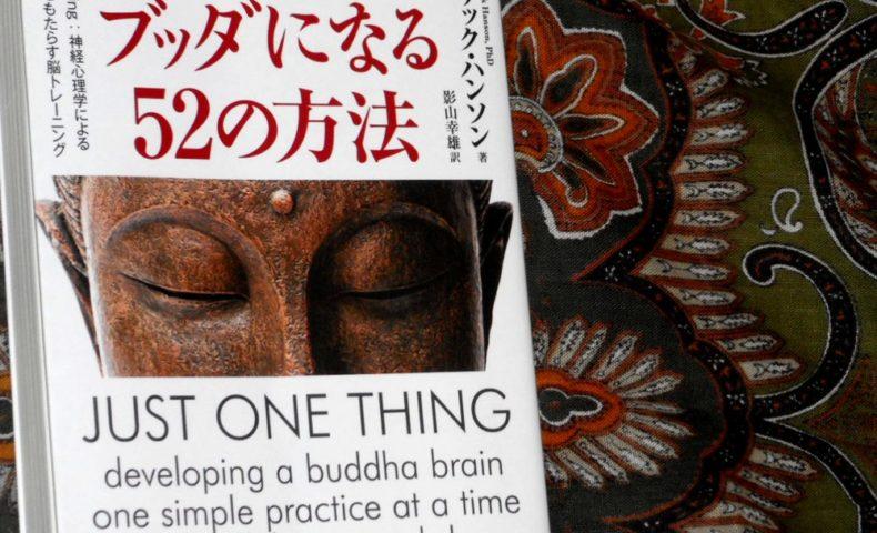 『脳を鍛えてブッダになる52の方法』は第2の矢を受けないための実用的な1冊。
